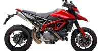 SC Project - SC Project S1 with Carbon Caps Exhaust: Ducati Hypermotard 950/SP - Image 5