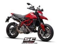 SC Project - SC Project S1 Carbon Exhaust: Ducati Hypermotard 950/SP - Image 3