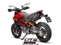 SC Project - SC Project S1 Carbon Exhaust: Ducati Hypermotard 950/SP - Image 4