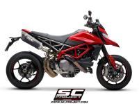 SC Project - SC Project SC1-R Carbon Exhaust: Ducati Hypermotard 950/SP - Image 3