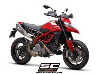 SC Project - SC Project SC1-R Carbon Exhaust: Ducati Hypermotard 950/SP - Image 4