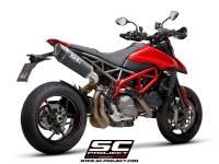 SC Project - SC Project SC1-R Carbon Exhaust: Ducati Hypermotard 950/SP - Image 5