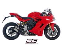 SC Project - SC Project CR-T Titanium Slip-On: Ducati SuperSport 939