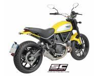 SC Project - SC Project Conical Titanium Slip-On: Ducati Scrambler - Image 2