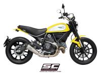 SC Project - SC Project Conical Titanium Slip-On: Ducati Scrambler - Image 4