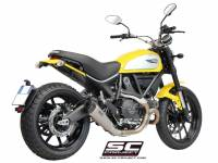 SC Project - SC Project Conical Titanium Slip-On: Ducati Scrambler - Image 3