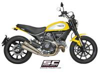 SC Project - SC Project Twin Conic 70's Slip-On: Ducati Scrambler - Image 2