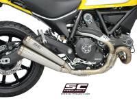 SC Project - SC Project Twin Conic 70's Slip-On: Ducati Scrambler - Image 3