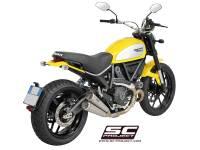 SC Project - SC Project Twin Conic 70's Slip-On: Ducati Scrambler - Image 4