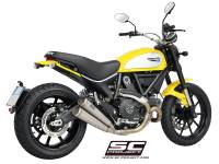 SC Project - SC Project Twin Conic 70's Slip-On: Ducati Scrambler - Image 6