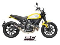SC Project - SC Project CR-T Slip-On Exhaust: Ducati Scrambler 803 Series, Monster 797 - Image 2