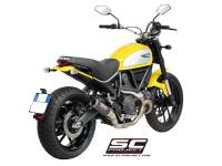 SC Project - SC Project CR-T Slip-On Exhaust: Ducati Scrambler 803 Series, Monster 797 - Image 3