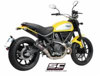 SC Project - SC Project CR-T Slip-On Exhaust: Ducati Scrambler 803 Series, Monster 797 - Image 4