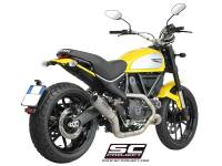 SC Project - SC Project CR-T Carbon or Titanium [Stainless Steel Headers] Full Exhaust System: Ducati Scrambler - Image 2