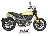 SC Project - SC Project Conical 2-1 Full High Mount Exhaust: Ducati Scrambler 803 Series - Image 3