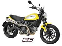 SC Project - SC Project Conical 2-1 Full High Mount Exhaust: Ducati Scrambler 803 Series - Image 2