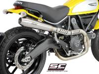 SC Project - SC Project Conical 2-1 Full Exhaust: Ducati Scrambler