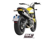 SC Project - SC Project Conical 2-1 Full High Mount Exhaust: Ducati Scrambler 803 Series - Image 4