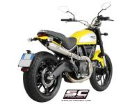 SC Project - SC Project Conical 2-1 Full High Mount Exhaust: Ducati Scrambler 803 Series - Image 5