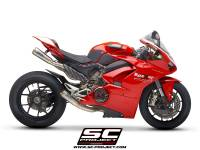 Exhaust - Full Systems - SC Project - SC Project Full Titanium Exhaust 4-2: Ducati Panigale V4/S/R