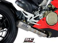 SC Project - SC Project CR-T Exhaust: Ducati Panigale V4/S/R