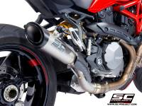 SC Project - SC Project S1 Titanium Exhaust: Ducati Monster 1200/S/R '17-'19