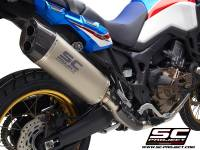 SC Project - SC Project Adventure Titanium 2-1 Exhaust: Honda Africa Twin CRF1000L