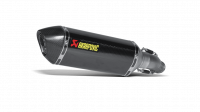Exhaust - Slip-Ons - Akrapovic - Akrapovic Slip-On Carbon Fiber Exhaust Suzuki GSXR 600 / 750 '11-'19