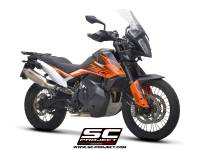 SC Project - SC Project Rally Raid Titanium: KTM 790 Adventure
