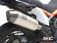 SC Project - SC Project X-Plorer Matte Carbon or Titanium: KTM 790 Adventure