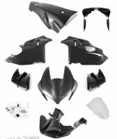 Shift-Tech - Shift-Tech 9 Piece Carbon Fiber Body Kit: Panigale V4/S/R