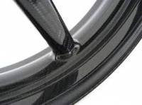 "BST Wheels - BST 5 Spoke Wheel Set: Aprilia RSV Mille 01-03 / RSV- R 04 [6.0"" Rear] - Image 4"