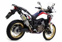Exhaust - Full Systems - Arrow - Arrow Full Titanium Exhaust: Honda Africa Twin CRF1000L