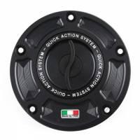 TWM - TWM Quick Action Aluminum Fuel Cap: Yamaha R3, R6, FZ-6, R1, FZ-1, XJR 1200/1300, MT-09