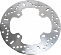 EBC Brakes - EBC Rear Brake Rotor: Ducati Hypermotard 1100S-821-796, SF 848, Monster 1100, Multistrada 1000-1100