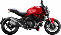 Stompgrip - Stompgrip Tank Protectors: Ducati Monster 1200 - Image 2