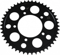 Drive Train - Rear Sprockets - Driven - Driven Lightweight 520 Black Steel Rear Sprocket: Ducati Panigale 899-959, 749-999, Desmosedici, Scrambler, Monster 797-821