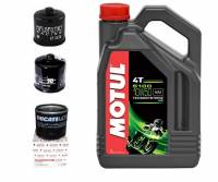 Tools, Stands, Supplies, & Fluids - Fluids - Motul - Ducati Oil Change Kit: Motul 5100 Synthetic Blend 10W-50 Oil & Choice of Oil Filter [Except PANIGALE]