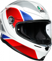 AGV - AGV K-6 Helmet: Hyphen White/Red/Blue
