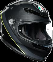AGV - AGV K-6 Helmet: Minimal Gunmetal/Black/Yellow