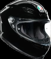 Helmets & Accessories - Helmets - AGV - AGV K-6 Helmet: Black