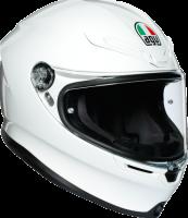 Helmets & Accessories - Helmets - AGV - AGV K-6 Helmet: White