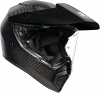 AGV - AGV AX9 Helmet: Matte Carbon Fiber [Medium Large Only]