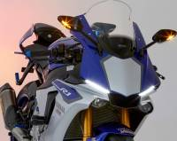 "RIZOMA - RIZOMA ""Veloce L"" Billet Mirrors With Integrated Turn Signals [Including the correct brackets]: Pair- Yamaha R1 15-19 - Image 2"