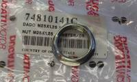 Wheels & Tires - Wheel Parts & Accessories - Ducati - Ducati OEM Front Axle Nut: MON, MTS620-1100, HM, ST, SC, 748-998, 749-999, S2R, S4R, S4RS   [M25X1.25]