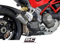 SC Project - SC Project CR-T Titanium Slip-On: Ducati Multistrada 1200/1260 '15-'19