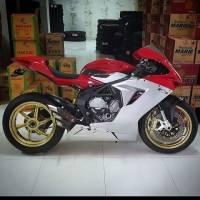 OZ Motorbike - OZ Motorbike GASS RS-A Forged Aluminum Wheel Set: MV Agusta F3/Brutale 675-800/ Stradale, Rivale - Image 3