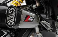 Exhaust - Headers - Zard - ZARD Titanium/Stainless Steel Racing Slip-On Exhaust: Ducati Multistrada 950