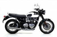Arrow - Arrow Pro Racing Slip-on Exhaust: Triumph Bonneville T120 '16-'19 - Image 1