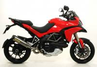 Arrow - Arrow Race-Tech Kat Delete Exhaust: Multistrada 1200 '10-'14